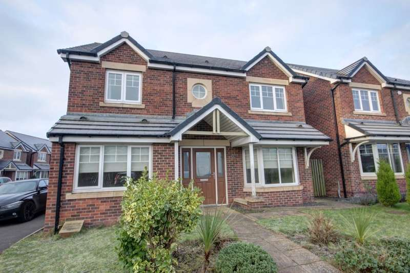 4 Bedrooms Detached House for sale in Cotherstone Court, Easington Lane, Houghton Le Spring, DH5