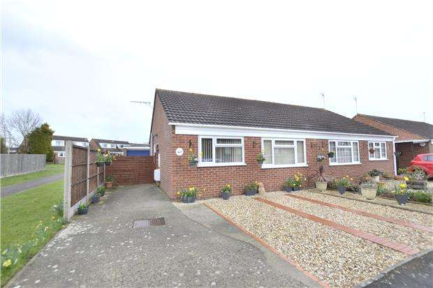 2 Bedrooms Semi Detached Bungalow for sale in Quantock Road, Quedgeley, GLOUCESTER, GL2 4TT