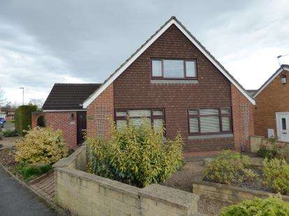 3 Bedrooms Bungalow for sale in Oregon Way, Chaddesden, Derby, Derbyshire