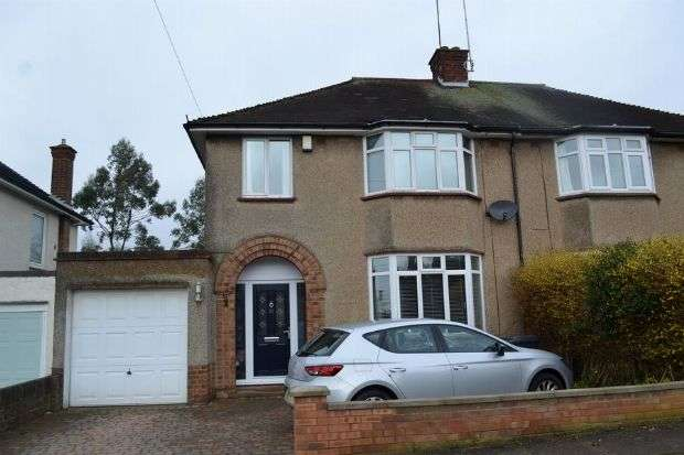 3 Bedrooms Semi Detached House for sale in Mountfield Road, Spinney Hill, Northampton NN3 6BE