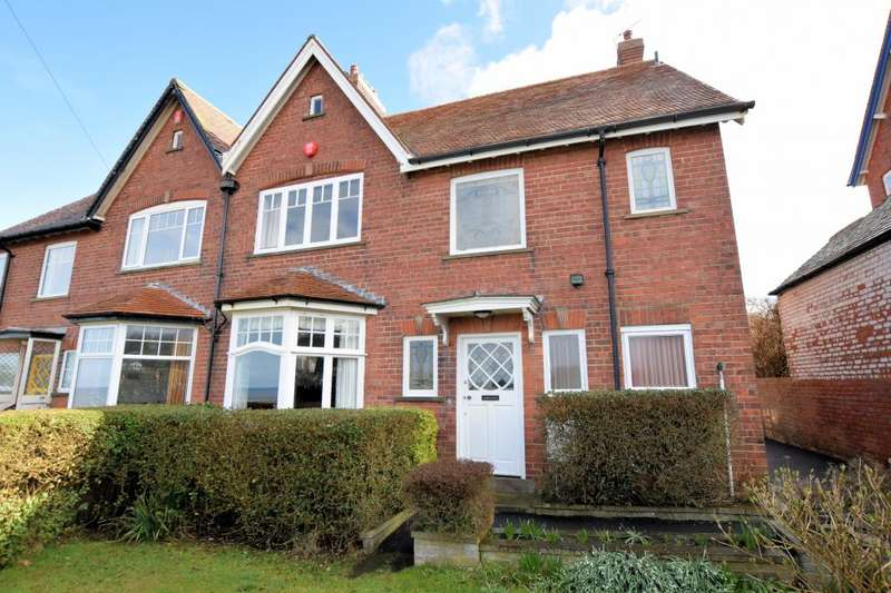 5 Bedrooms Semi Detached House for sale in Sea Cliff Road, Scarborough, North Yorkshire YO11 2XU