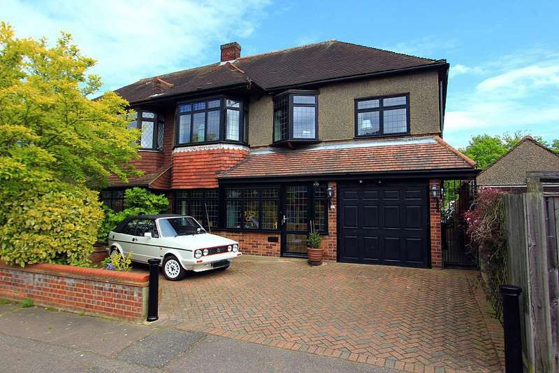 4 Bedrooms Semi Detached House for sale in Whitehall Close, Chigwell, Essex, IG7 6EQ