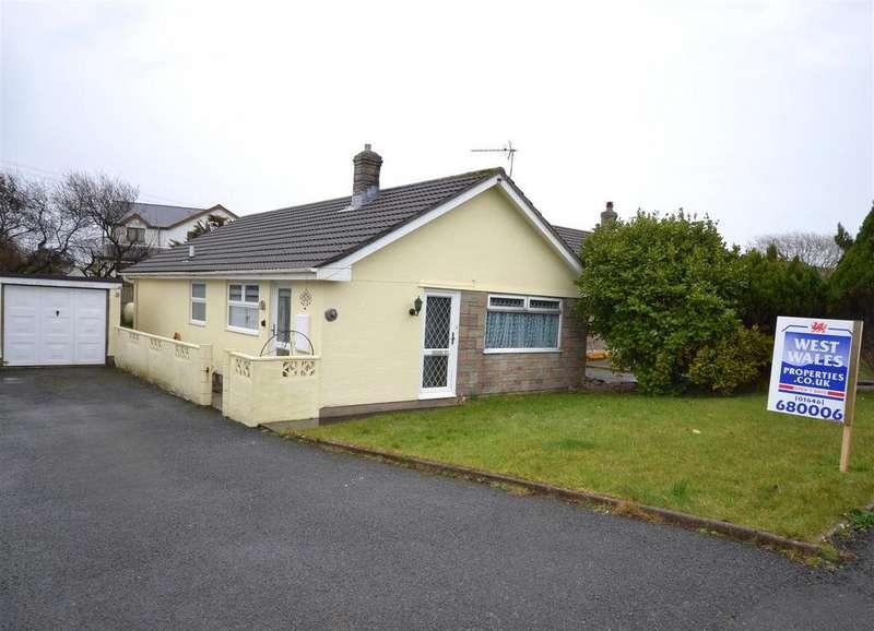 3 Bedrooms Detached Bungalow for sale in Cricket Grove, Hundleton, Pembroke