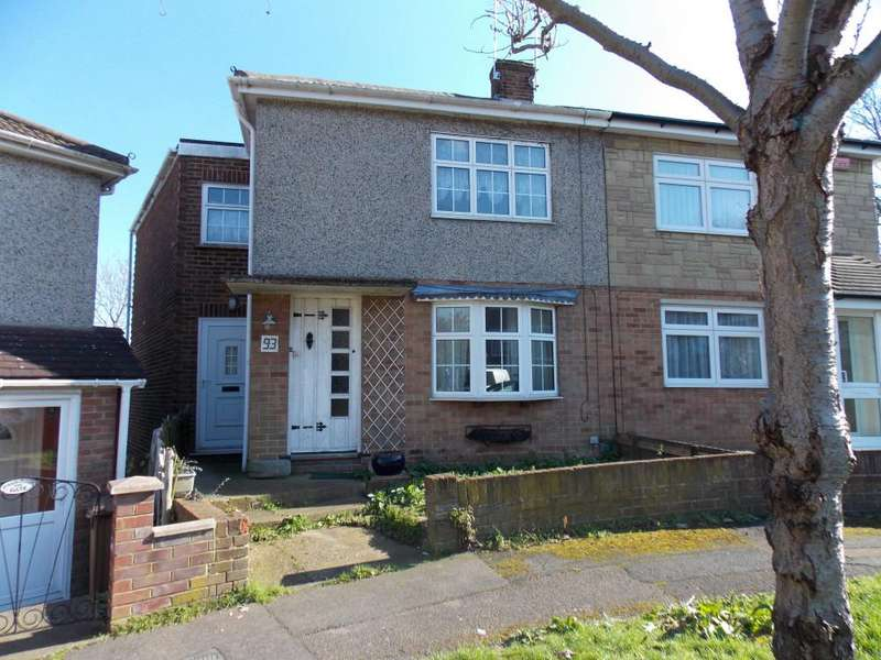 3 Bedrooms Semi Detached House for sale in INGLE ROAD, CHATHAM ME4