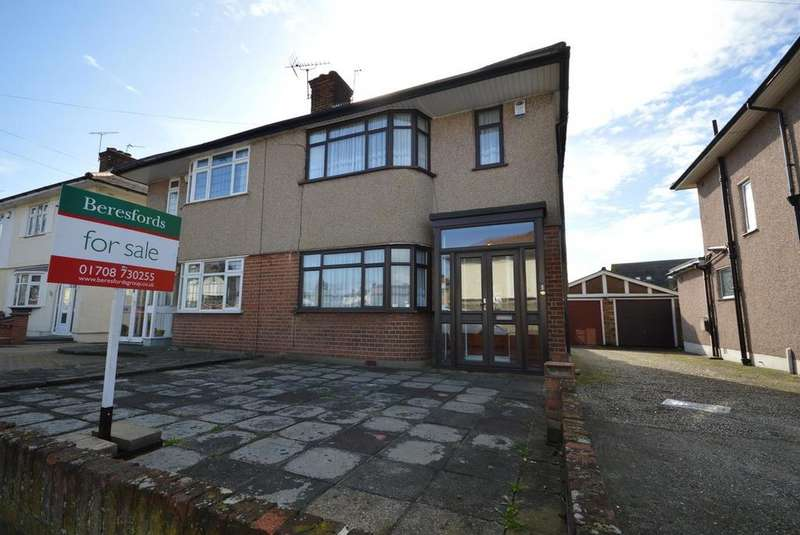 3 Bedrooms Semi Detached House for sale in Highfield Road, Romford, RM5