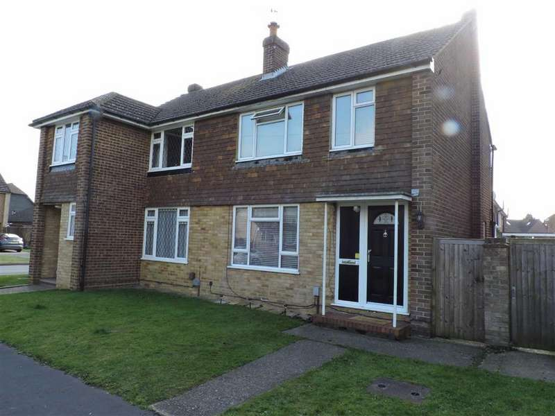 3 Bedrooms Semi Detached House for sale in Black Prince Close, Byfleet