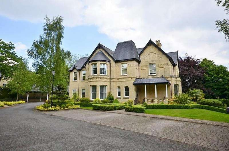 2 Bedrooms Apartment Flat for sale in Ellerslie, Suffolk Road, Altrincham
