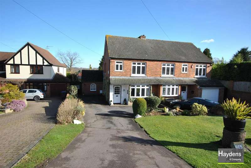 3 Bedrooms Semi Detached House for sale in Tolmers Road, Cuffley