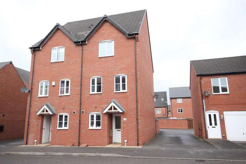 4 Bedrooms Semi Detached House for sale in Foss Road, Hilton, Derby