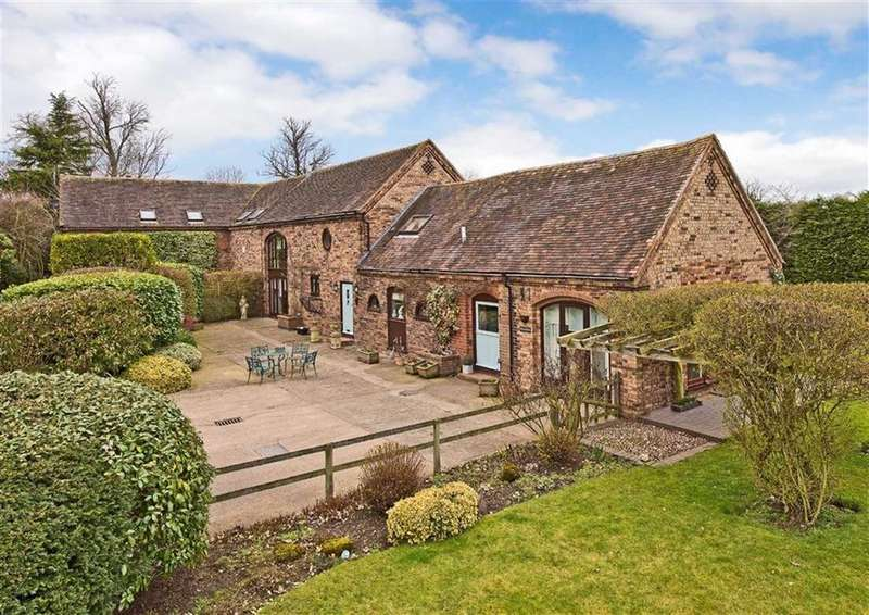 4 Bedrooms Barn Conversion Character Property for sale in Dingle Cottage, Badger, Burnhill Green, Wolverhampton, WV6