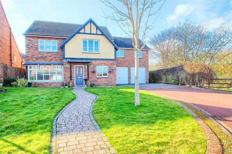 4 Bedrooms Detached House for sale in Meridian Way, Bramley Green