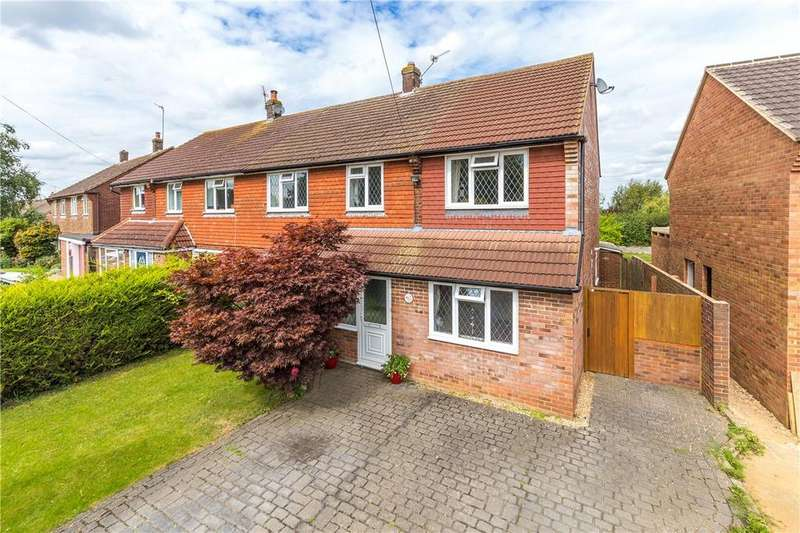 4 Bedrooms Semi Detached House for sale in Butterfield Road, Wheathampstead, St. Albans, Hertfordshire