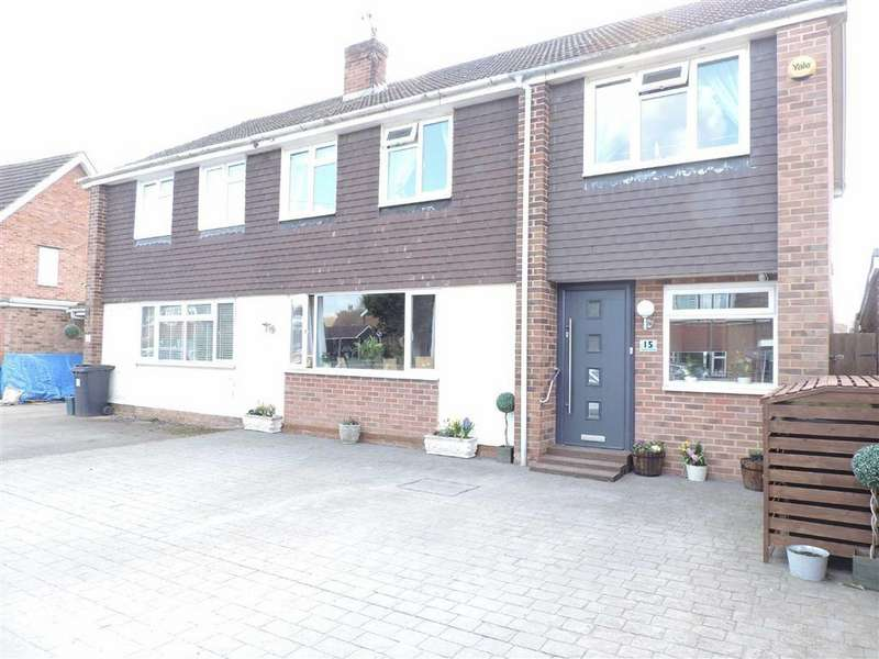 4 Bedrooms Semi Detached House for sale in Magdalen Crescent, Byfleet