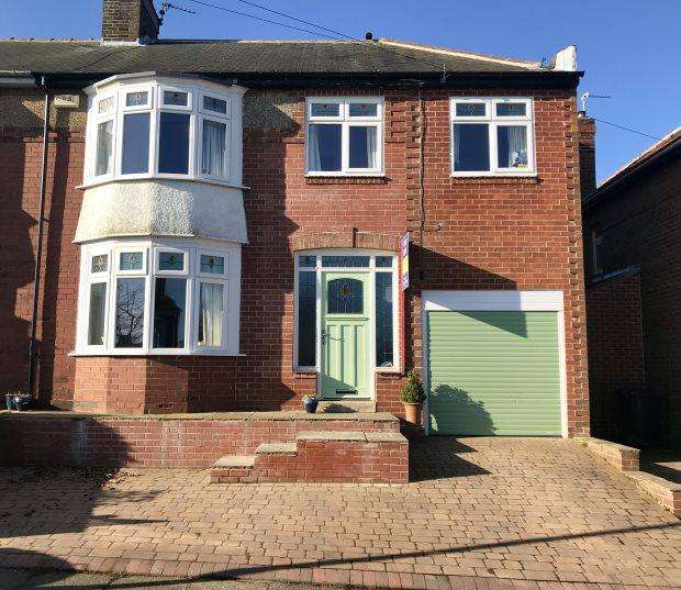 4 Bedrooms Semi Detached House for sale in SPRINGWELL AVENUE, NORTH END, DURHAM CITY