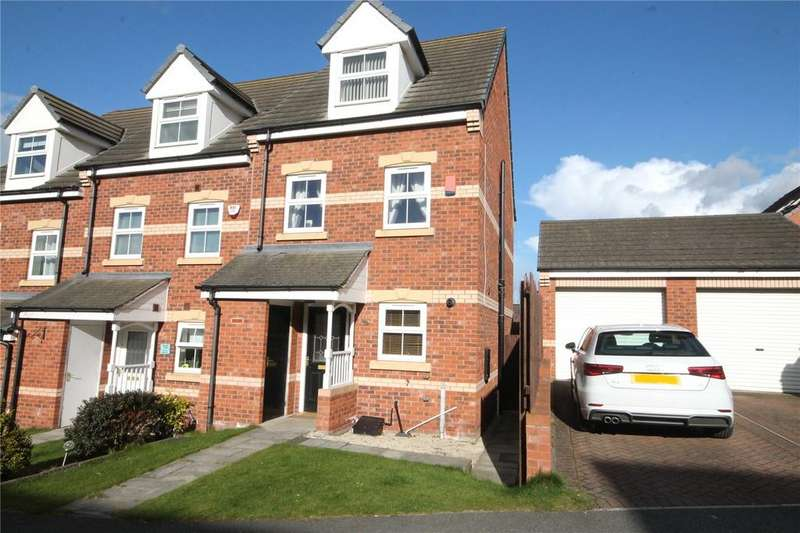 3 Bedrooms End Of Terrace House for sale in Hall Bank, Barnsley, S75