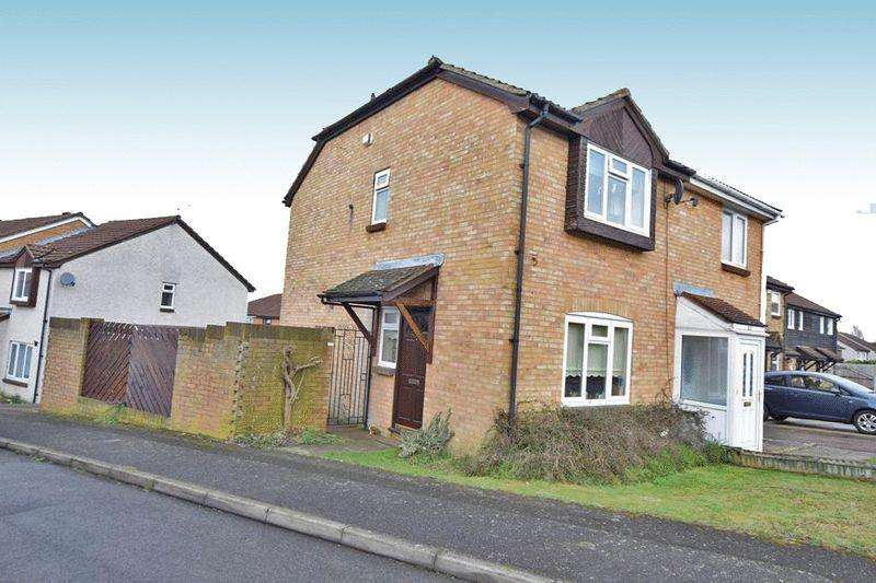 2 Bedrooms Semi Detached House for sale in Redsells Close, Maidstone
