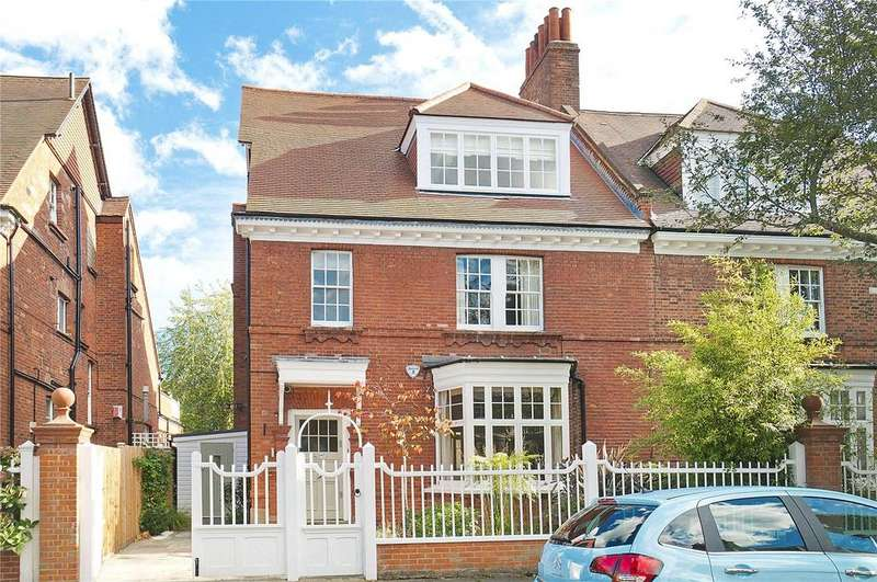 6 Bedrooms Semi Detached House for sale in Woodstock Road, Bedford Park, Chiswick, London, W4