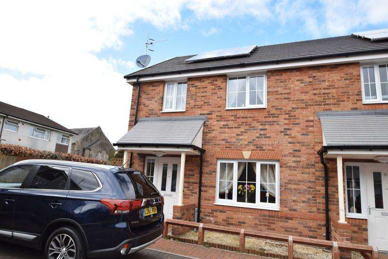 2 Bedrooms Semi Detached House for sale in Bakery Close, Talywain