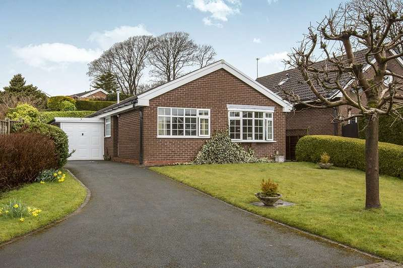 2 Bedrooms Detached Bungalow for sale in Lanreath Close, Macclesfield, SK10