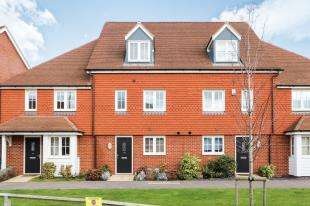 4 Bedrooms Terraced House for sale in Brookfield Drive, The Acres, Horley, Surrey