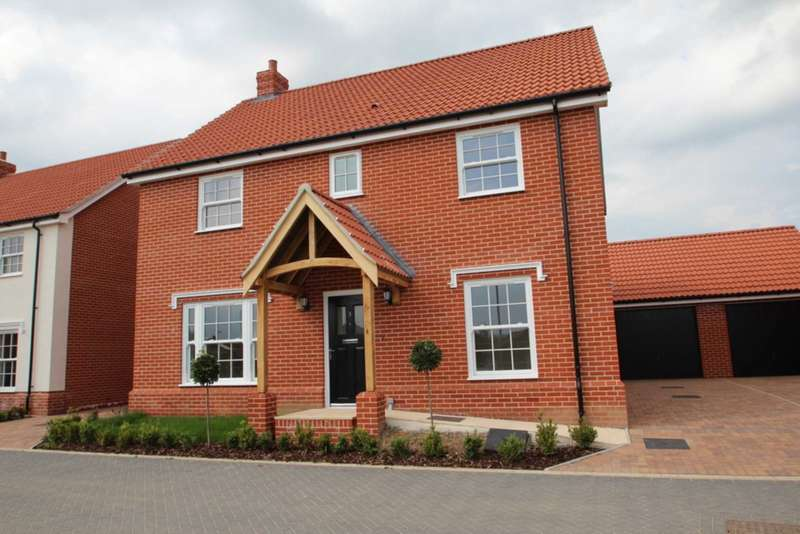 4 Bedrooms Detached House for sale in Springfield Grange, Acle
