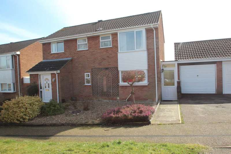 4 Bedrooms Detached House for sale in Lackford Close, Brundall