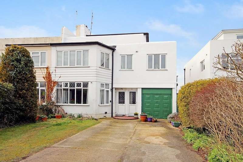 2 Bedrooms Maisonette Flat for sale in Shaftesbury Avenue, Goring, Worthing BN12 4EQ