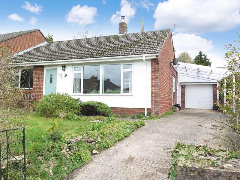 2 Bedrooms Semi Detached Bungalow for sale in Croscombe