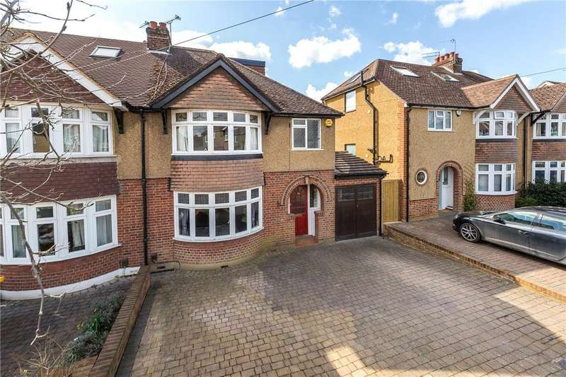 4 Bedrooms Semi Detached House for sale in Highfield Avenue, Harpenden, Hertfordshire