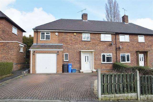 3 Bedrooms Semi Detached House for sale in Ravencroft Road , Sheffield , S13 8PG