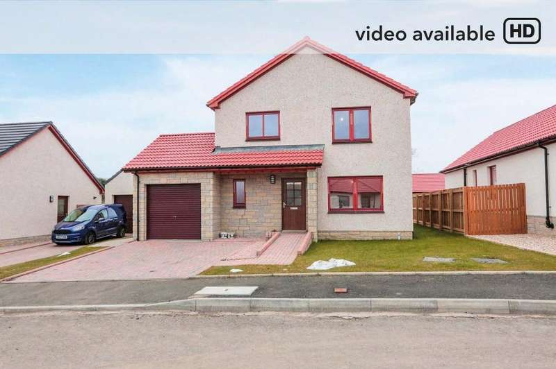 4 Bedrooms Detached House for sale in The Beeches, Carnock, Fife, KY12 9JJ