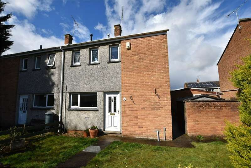 2 Bedrooms Semi Detached House for sale in Strawberry Close, Nailsea, Bristol, North Somerset