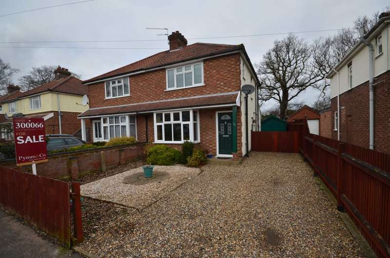 3 Bedrooms Semi Detached House for sale in Spinney Road, Norwich
