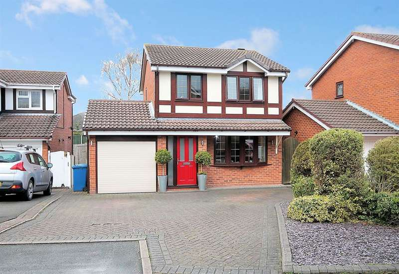3 Bedrooms Detached House for sale in Sudeley, Dosthill, Tamworth, B77 1JU