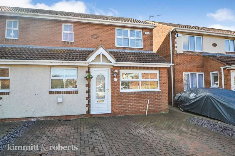 3 Bedrooms Semi Detached House for sale in Donerston Grove, Peterlee, Co.Durham, SR8