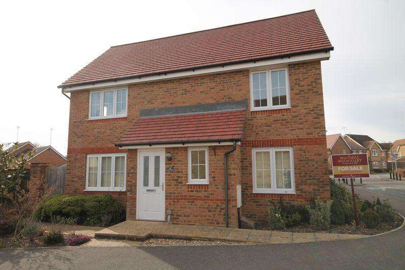 3 Bedrooms Semi Detached House for sale in Oak Tree Drive, Hassocks, West Sussex,