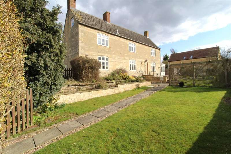 4 Bedrooms Detached House for sale in Bourne Road, Colsterworth, Grantham, NG33