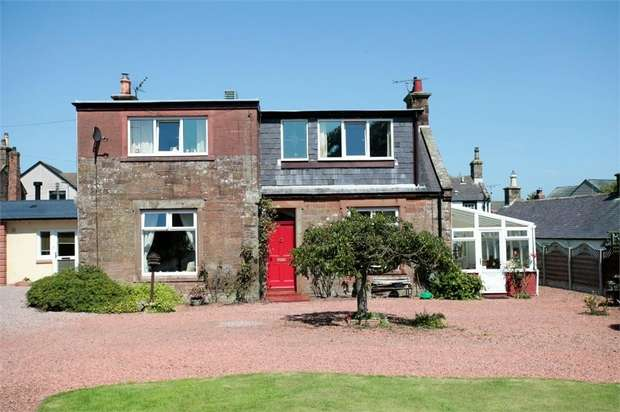4 Bedrooms Semi Detached House for sale in Main Road, Ecclefechan, Lockerbie, Dumfries and Galloway