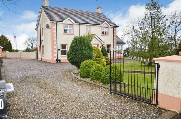 4 Bedrooms Detached House for sale in Tullaghans Road, Finvoy, Ballymoney, County Antrim