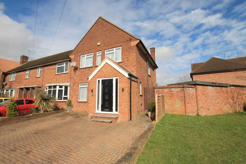 3 Bedrooms End Of Terrace House for sale in Bovingdon Crescent, Watford