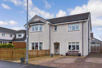 4 Bedrooms Detached House for sale in Hopepark Drive, Smithstone