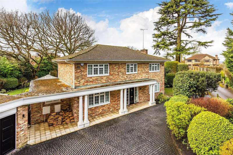 5 Bedrooms Detached House for sale in Firbank Lane, Woking, Surrey, GU21