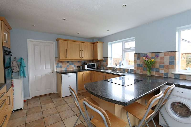 4 Bedrooms Detached House for sale in Wheatfields, Whatfield, Suffolk, IP7 6RB