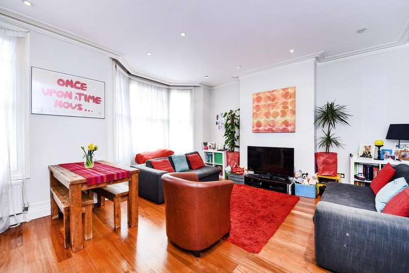 2 Bedrooms Flat for sale in Holmdale Road, West Hampstead