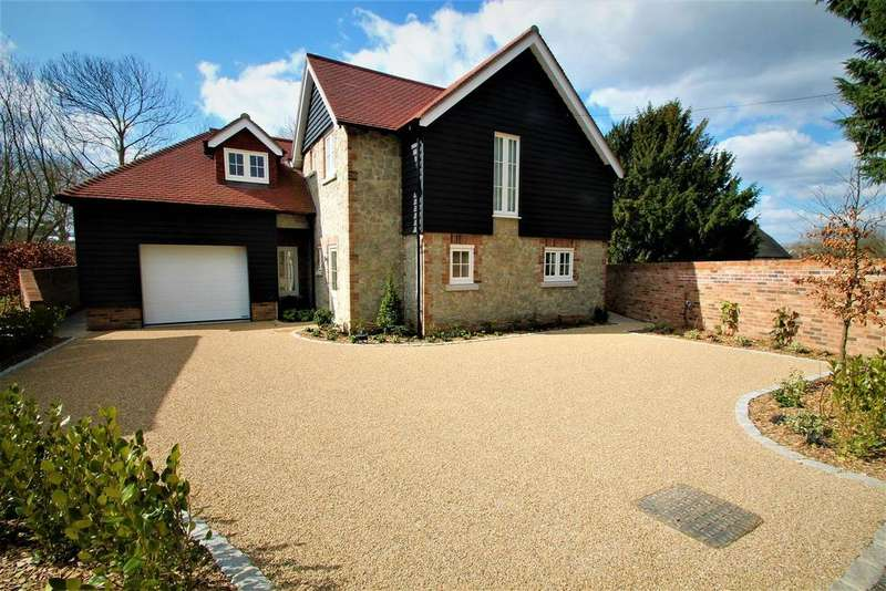 4 Bedrooms Detached House for sale in Lower Road, West Farleigh, Maidstone