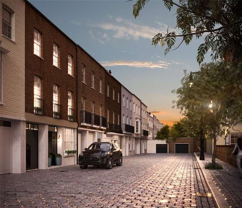 4 Bedrooms Mews House for sale in Boscobel Place, Belgravia, SW1W