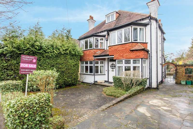 5 Bedrooms Detached House for sale in Burcott Road, Purley, Surrey, CR8 4AD