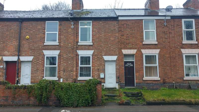 2 Bedrooms Terraced House for sale in Abbey Street, Stockbrook DE22