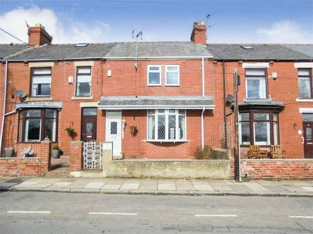 4 Bedrooms Terraced House for sale in Victor Terrace, Bearpark, Durham