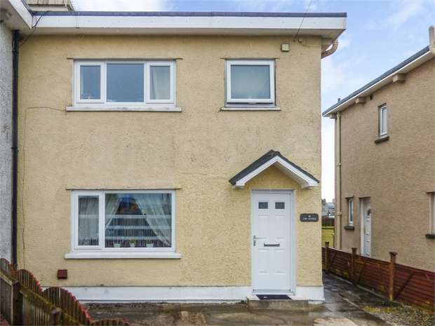 3 Bedrooms Semi Detached House for sale in The Avenue, Broughton Moor, Maryport, Cumbria